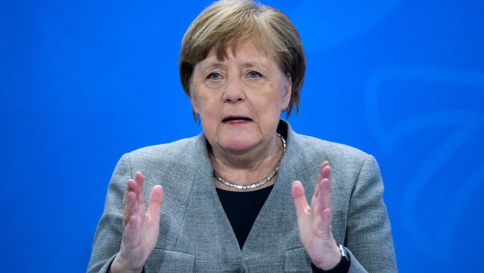 """Bundeskanzlerin Angela Merkel: """"Ein zerbrechlicher Zwischenerfolg"""""""