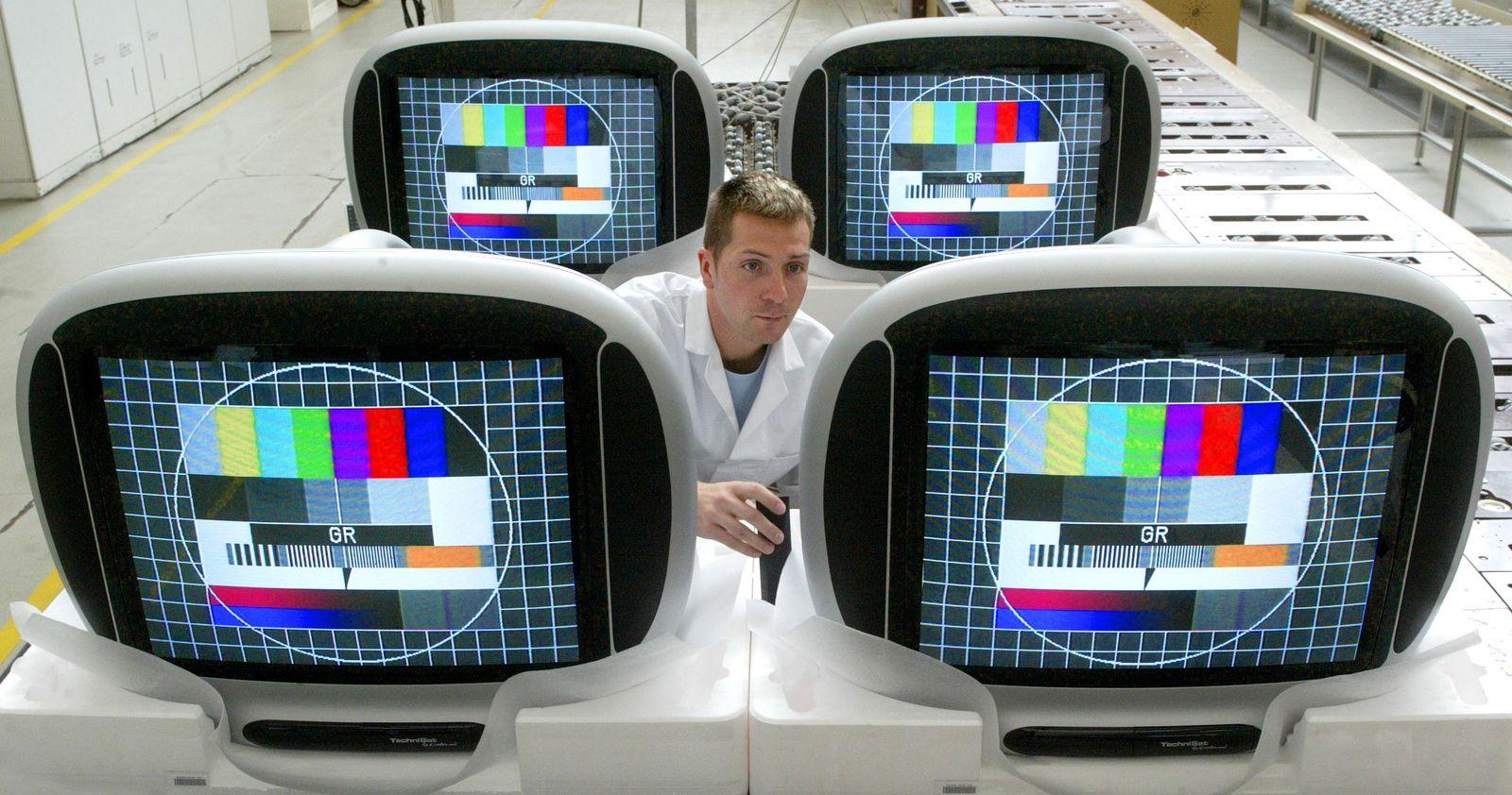 Testbild Fernseher