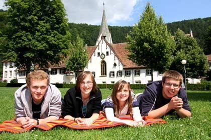 Zusammen leben und lernen: Schüler des Evangelischen Seminars Blaubeuren