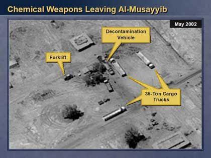 Irakische Offiziere sollen selbst von verbotenen Waffen gesprochen haben. Das jedenfalls soll aus den Protokollen hervorgehen, die der US-Geheimdienst von Tonbandmitschnitten angefertigt hat
