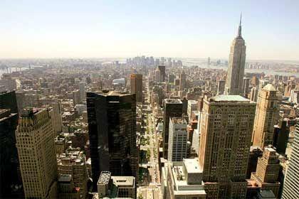 New York: Tishman Speyer kontrolliert in Manhattan unter anderem das Rockefeller Center und den Chrysler-Wolkenkratzer