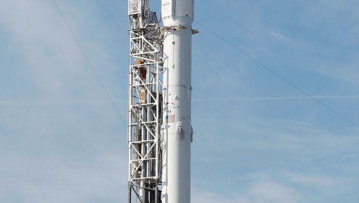 SpaceX-Rakete zerschellt: Erst Silberschweif, dann Schrott