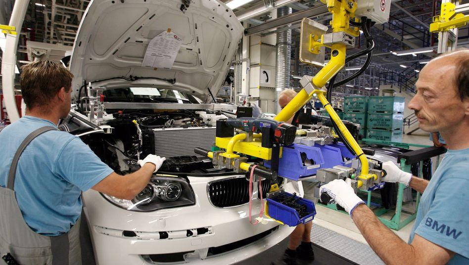 BMW-1er-Produktion in Leipzig: 20 Prozent Leiharbeiterquote sind nach Ansicht der Mitarbeitervertretung zuviel
