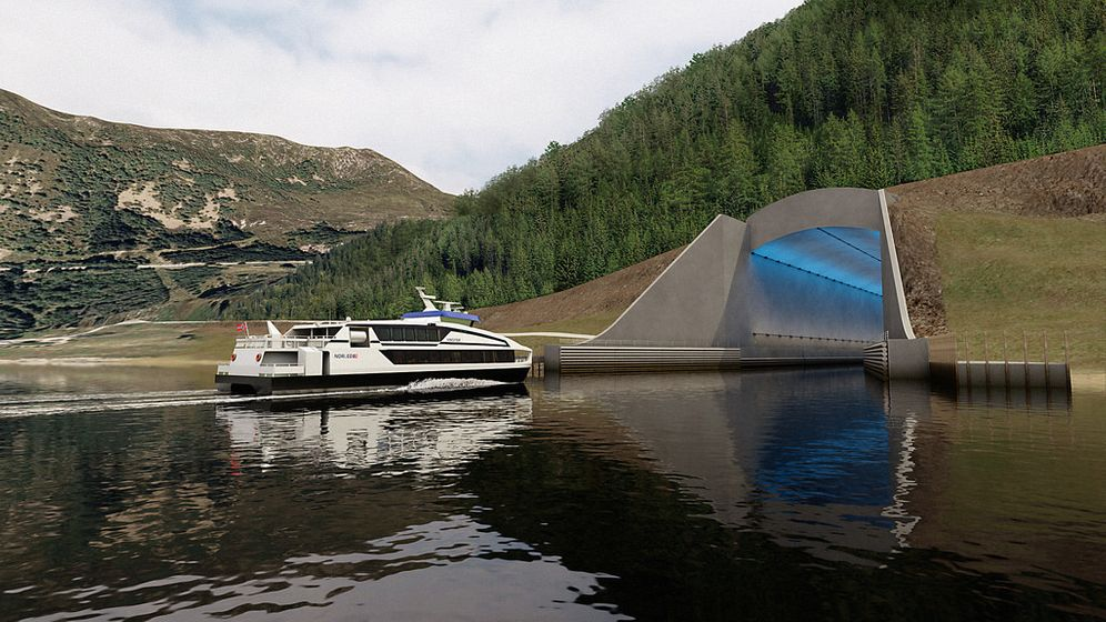 Spektakulärer Tunnel in Norwegen: Röhre für die Schifffahrt