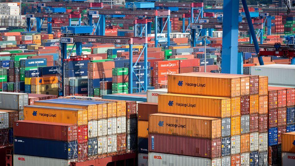Container im Hafen Hamburg: Investoren von Magellan hatten kein Glück mit dem Investment
