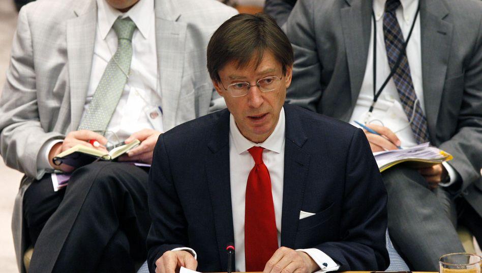 Peter Wittig ist derzeit noch Botschafter in London
