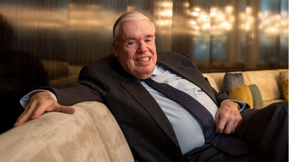 Läuft bei ihm: Großlogistiker Klaus-Michael Kühne ist mit einem Vermögen von 33 Milliarden Euro in die Top 3 der reichsten Deutschen aufgestiegen