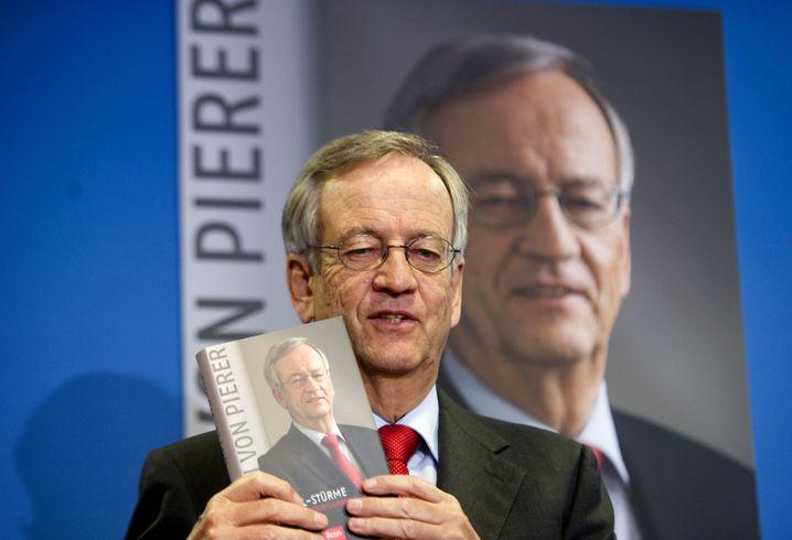 """Wunschtitel: Heinrich von Pierer präsentiert seine Autobiografie """"Gipfel-Stürme"""" (2011)"""