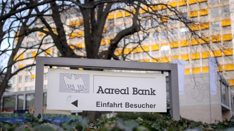 Umkämpft: Aareal Bank in Wiesbaden