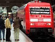 Die Züge sollen bald pünktlicher werden