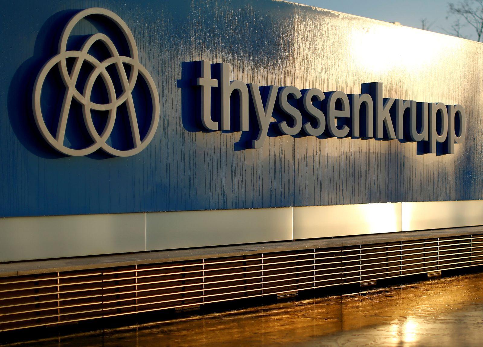 Thyssenkrupp Logo Headquarter
