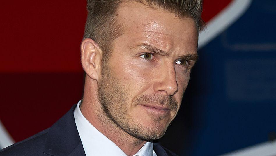 David Beckham: Rücktritt mit 38 Jahren