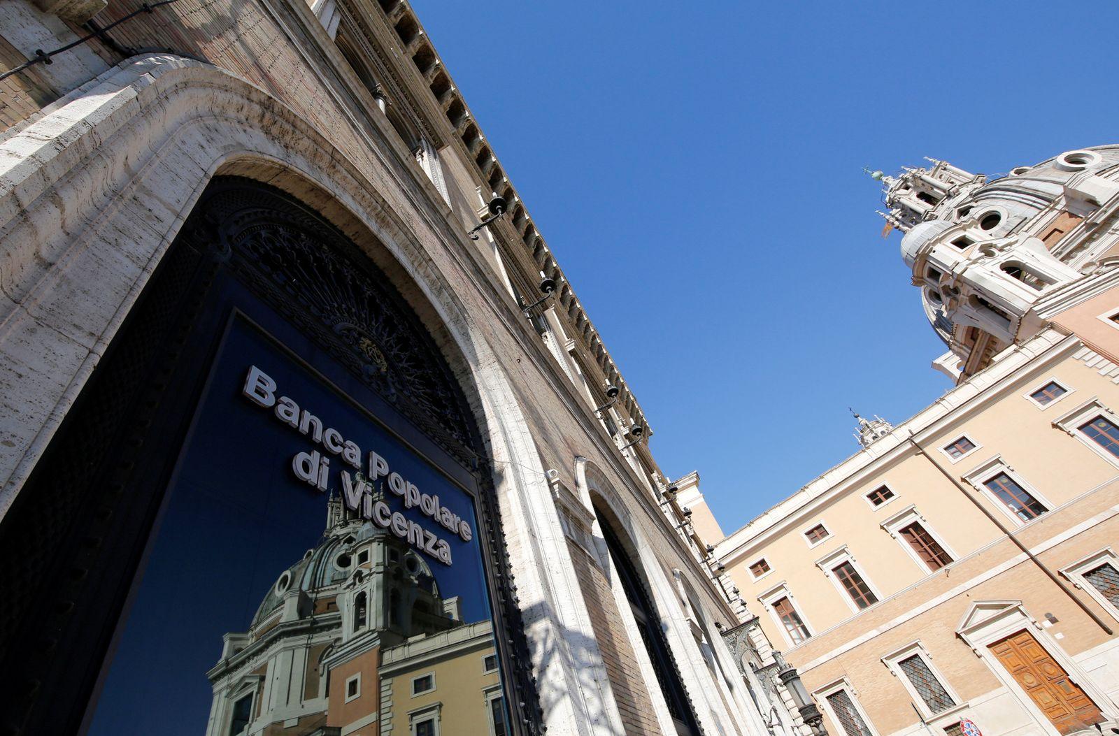 EINMALIGE VERWENDUNG / Banca Popolare di Vicenza