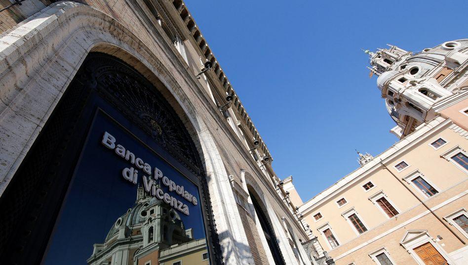 Filiale der Banca Popolare di Vicenza in Rom