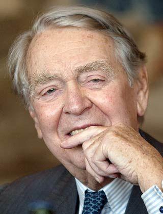 """""""Mich kann niemand in Pension schicken"""" Berthold Beitz"""