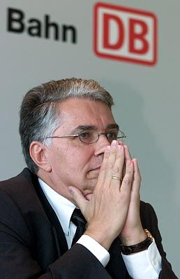 Soll aus dem DB-Vorstand ausscheiden: Horst Föhr, 57
