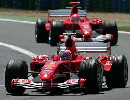 Überholer: Rubens Barichello, Michael Schumacher