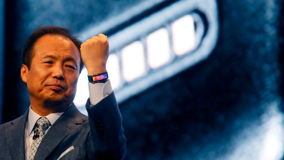 J.K. Shin hat Samsung zum mit Abstand größten Smartphone-Hersteller gemacht - nach einem schlechten Jahr wird nun die Luft immer dünner