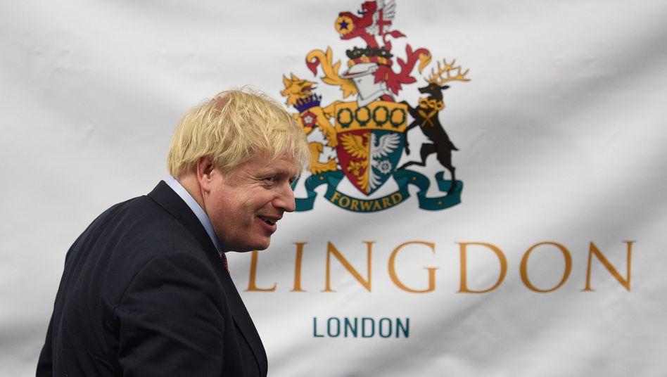 Wahlsieger Boris Johnson: Die Konservativen werden im Unterhaus die absolute Mehrheit haben. Dem EU-Austritt Großbritanniens dürfte jetzt nichts mehr im Wege stehe