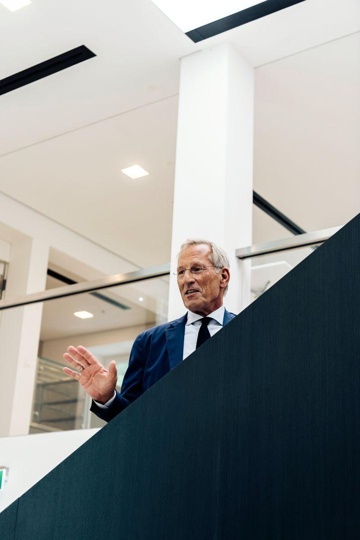 Mentor: Der frühere Vorstands- und heutige Aufsichtsratschef der Allianz, Michael Diekmann.