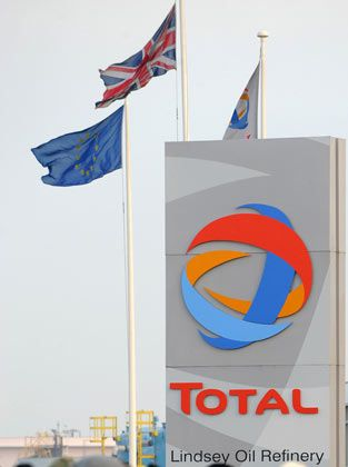 Erhöht die Dividende: Der französische Ölkonzern Total