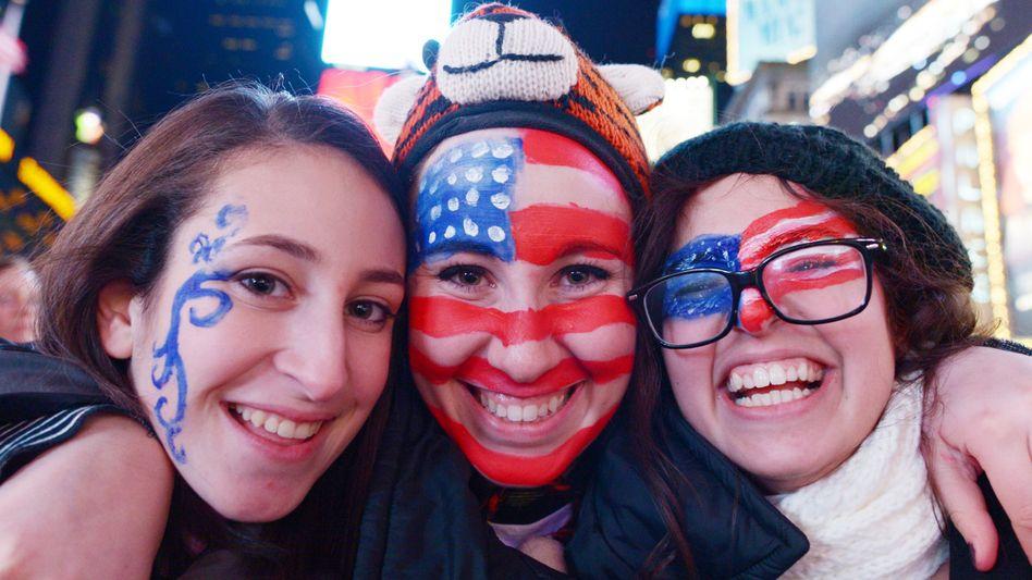 Strahlende Gesichter nur bei diesen Damen: Deutschlands US-Exporteure dagegen müssen sinkende Ausfuhren verkraften