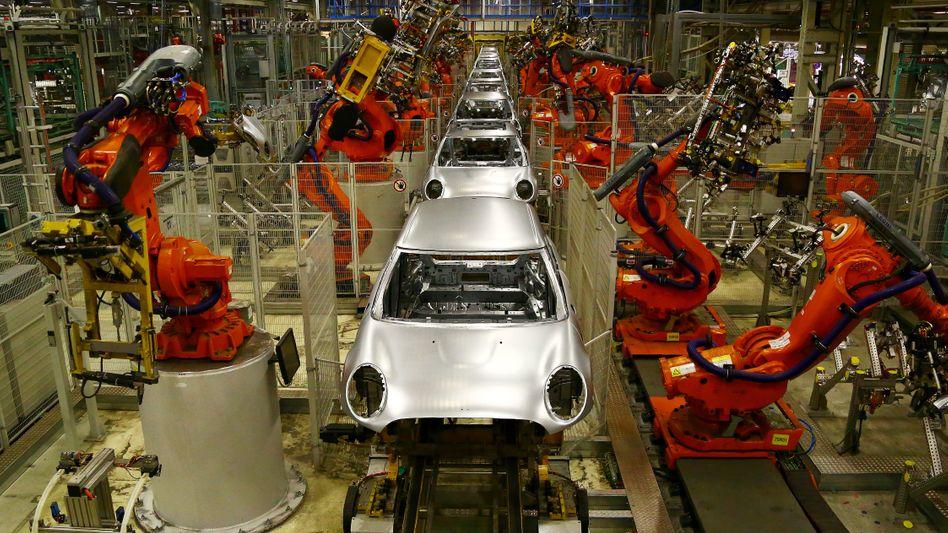 Mini-Produktion in Großbritannien: Die Käufer halten sich zurück, die Autobauer werden nervös