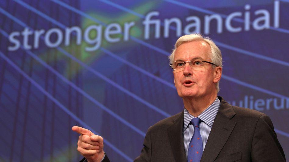 EU-Kommissar Michel Barnier: Erste EU-Reaktion auf den Libor-Skandal