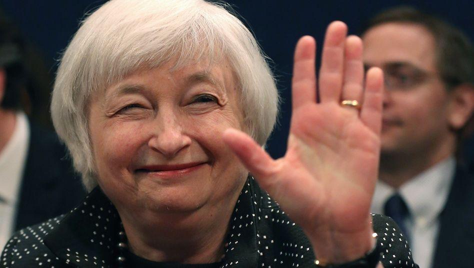 Fed-Chefin Janet Yellen: Beobachter gehen davon aus, dass die US-Notenbank nicht vor September die Zinsen anhebt
