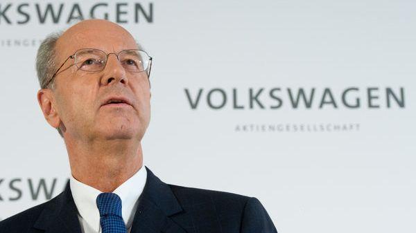 Da muss er durch: VW-Aufsichtsratschef Hans Dieter Pötsch