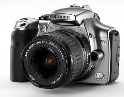 Für Anfänger: Die Canaon EOS 300D/