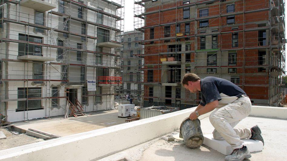 Wohnungsbau in München: Genossenschaften bieten Sparern oft über zwei Prozent Zinsen.
