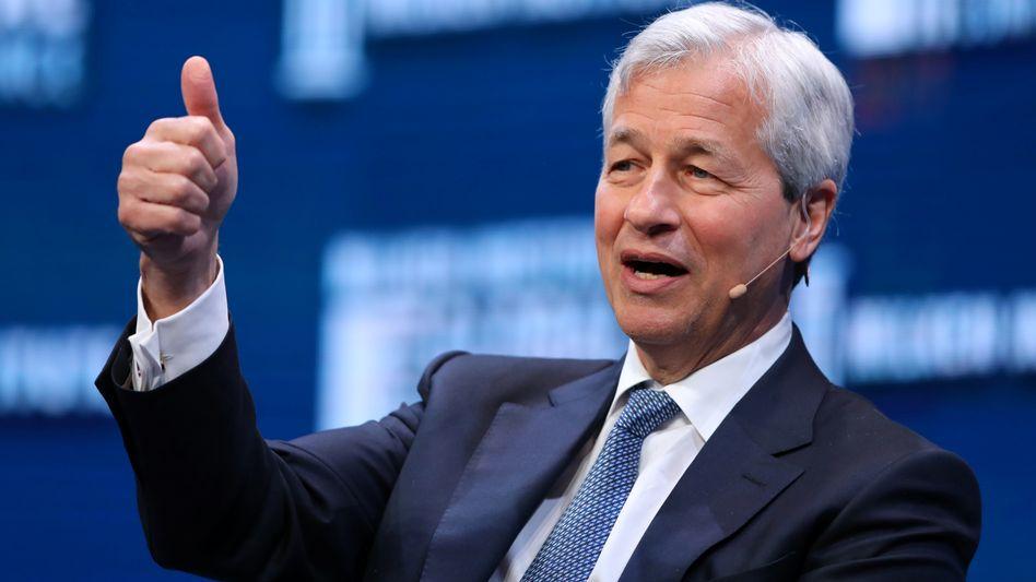Immer weiter: Jamie Dimon, Chairman und CEO von JPMorgan Chase.