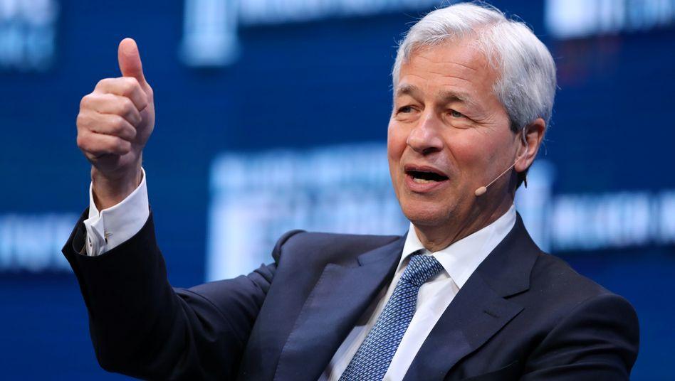 JP Morgan Chef Jamie Dimon: Danke, Donald
