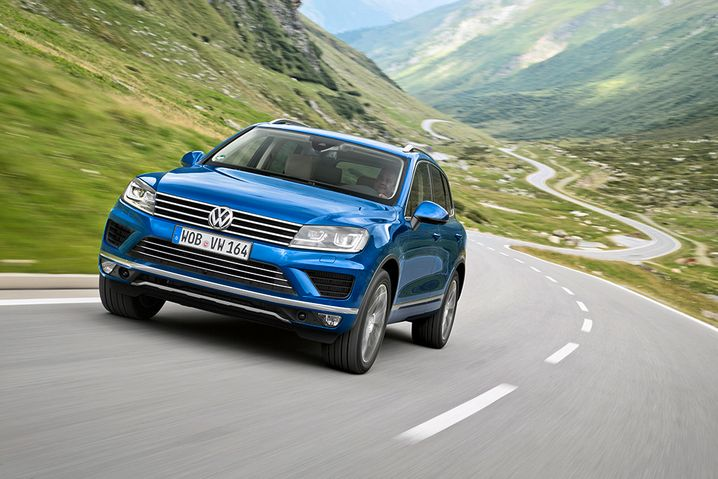 Volkswagen Touareg: Für große Autos bleibt der Diesel wichtig, meinen VW-Topmanager - für kleinere weniger