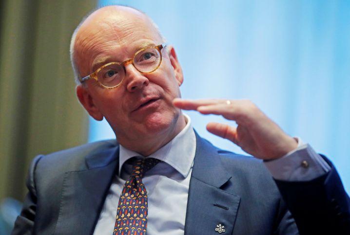 Noch Co-Präsident des Global Wealth Management der UBS: Martin Blessing geht.