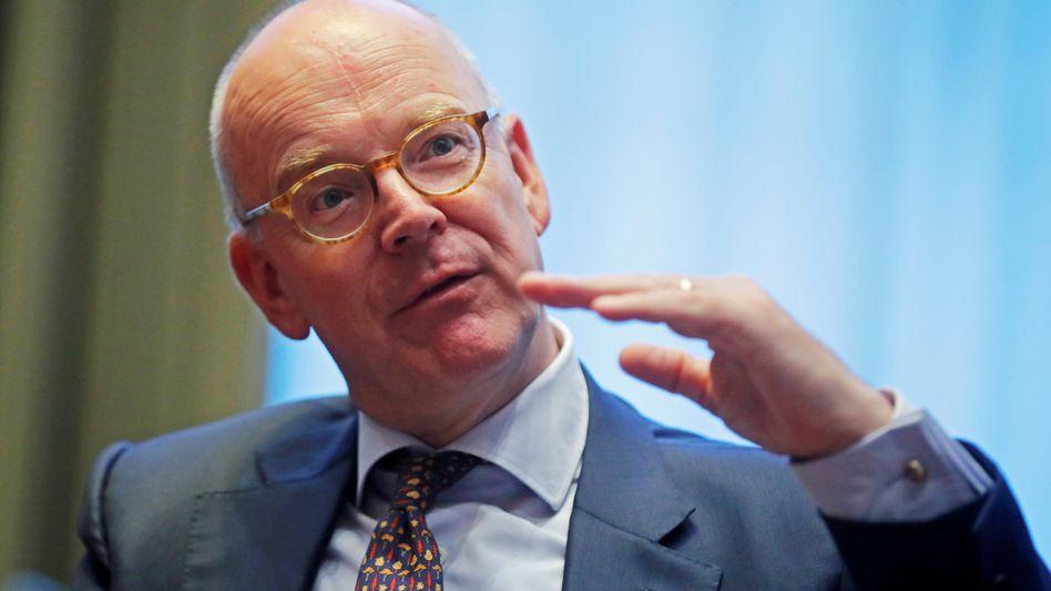 Martin Blessing, Co-Präsident des Global Wealth Management UBS, verlässt die Schweizer Bank