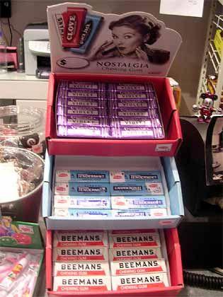 """Trend """"Neo-Retro"""": Nostalgia Chewing Gum"""