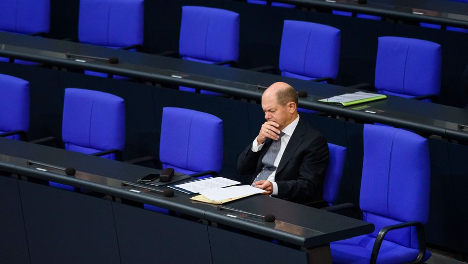 Kein Spielraum für Sonderwünsche der Ressortkollegen: Bundesfinanzminister Olaf Scholz (SPD)