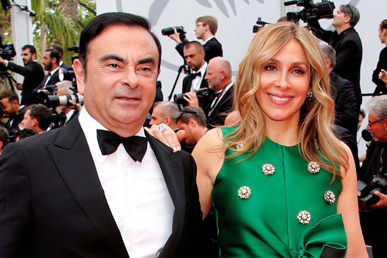 Carlos Ghosn, Frau Carole