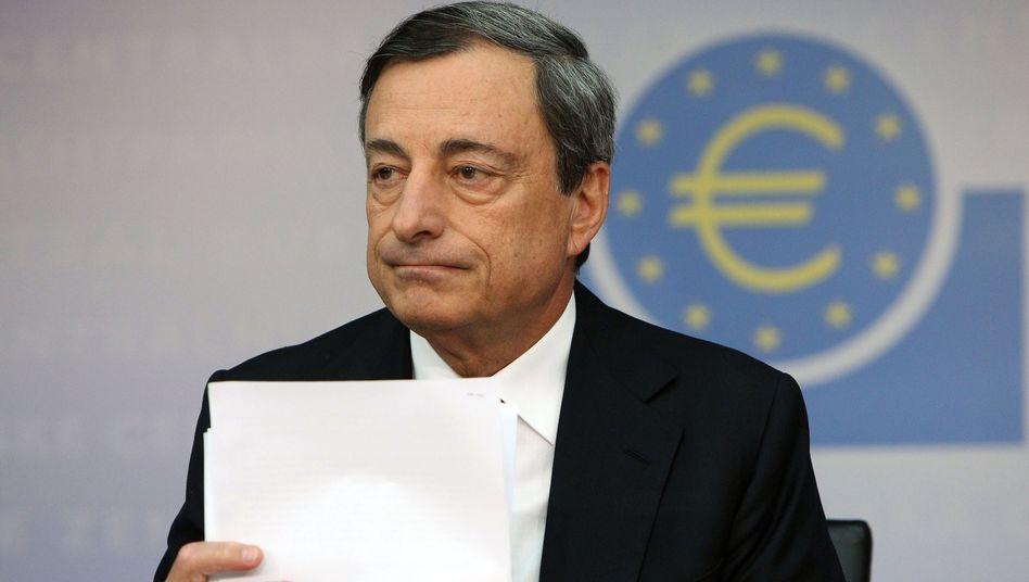 EZB-Chef Mario Draghi: Griff in den Giftschrank?