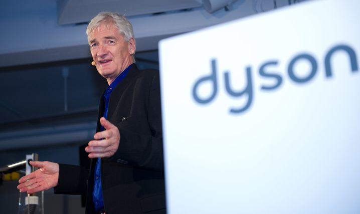 Der britische Unternehmer und Erfinder James Dyson arbeitet hart an seinem Traum eines selbst entwickelten und selbst produzierten Elektroautos