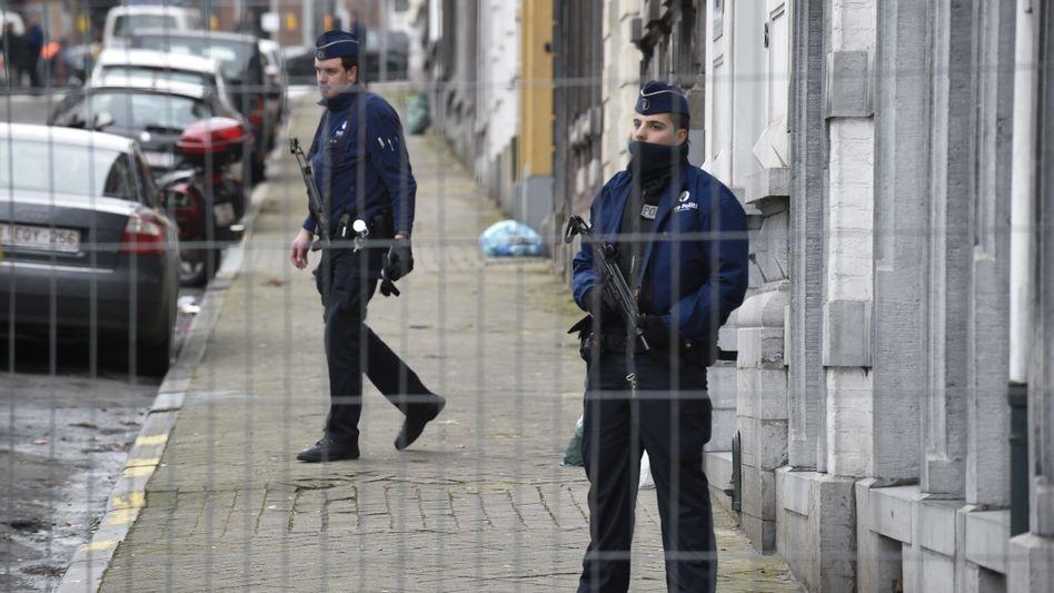 Polizisten in Verviers: 13 Festnahmen