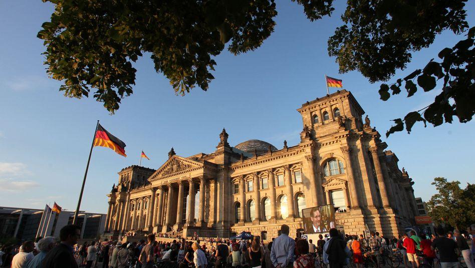 Reichstag in Berlin: Viele international tätige und erfolgreiche Unternehmen in Deutschland