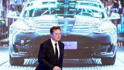 Elon Musk fährt von Rekord zu Rekord