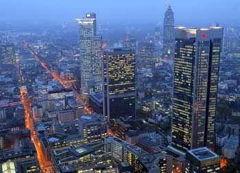 Banken in Frankfurt: Zunehmend Ziel von Finanzinvestoren