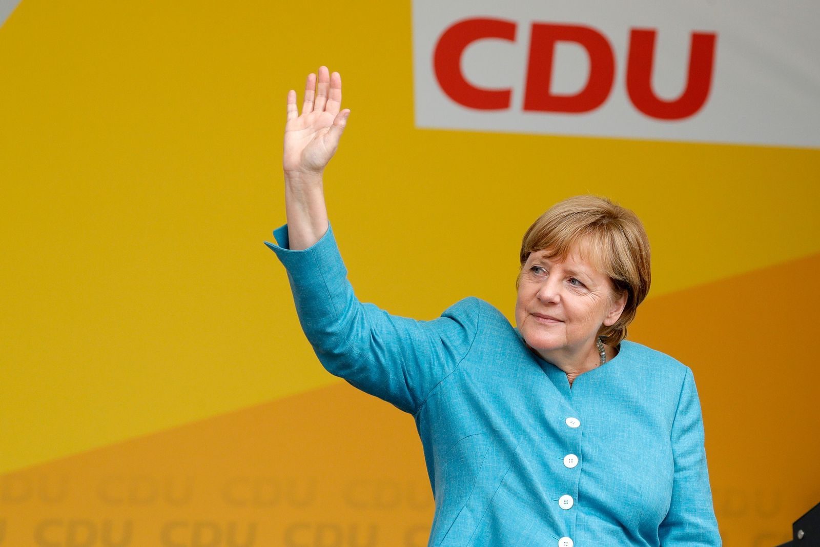 Angela Merkel / Wahlkampf / Koblenz