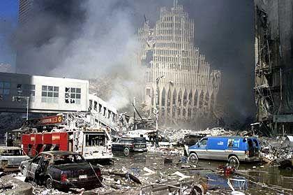 Verwüstung, Schock und Angst: New York nach dem Anschlag vom 11. September