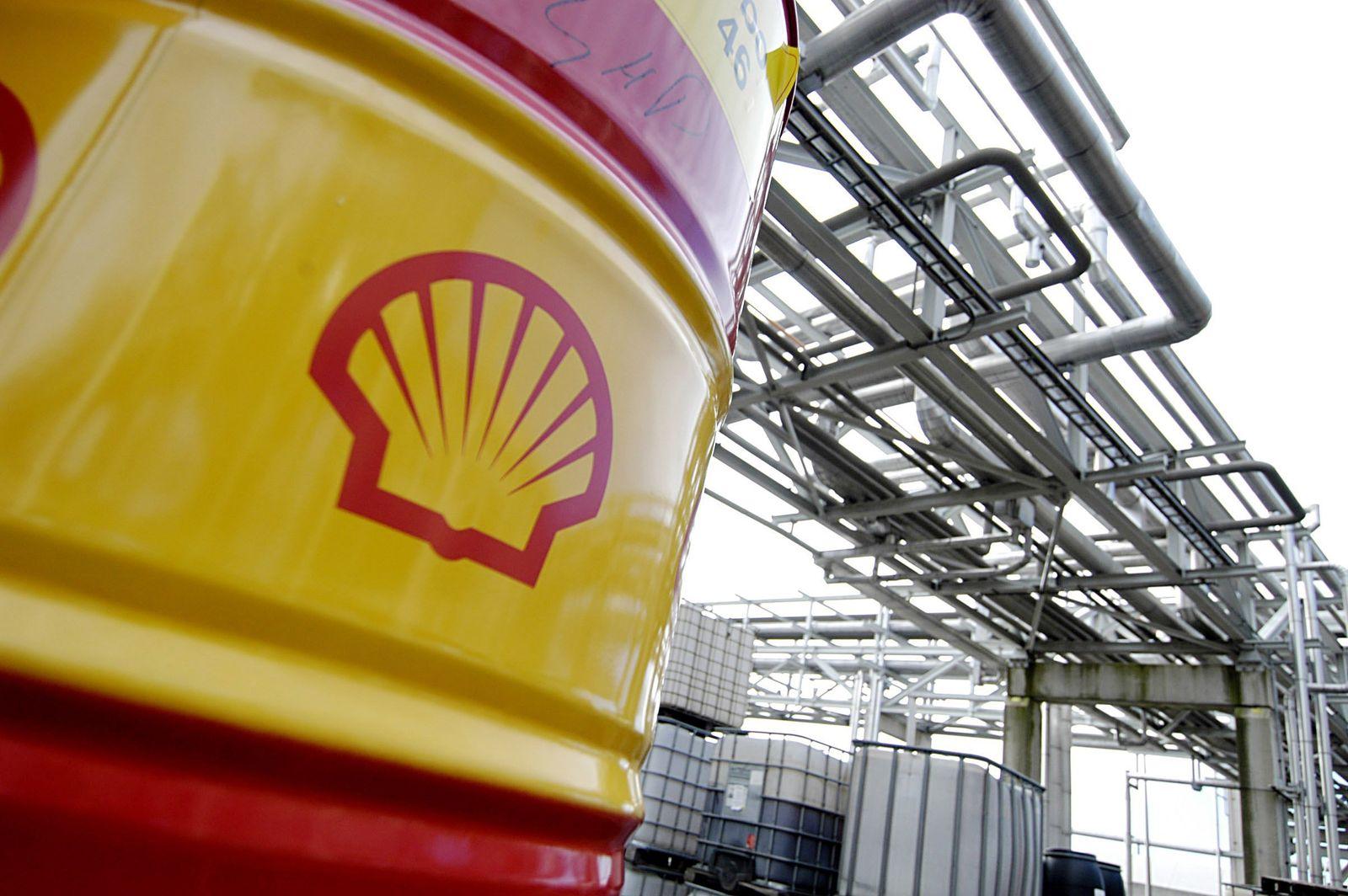 Shell-Raffinerie