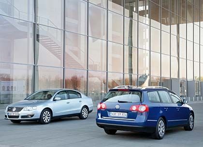 Sparsamer Blaumann: Der Passat Blue Motion von VW
